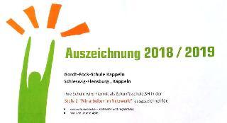 Zukunftsschule 2018/2019