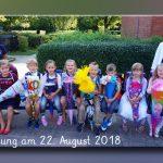 Einschulung August 2018