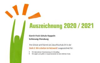 Zukunftsschule 2020 / 2021